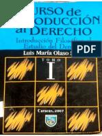 Curso de Introducción al Derecho. Luis María Olaso