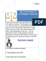 key court cases in civil rights