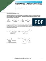 Carboxylic Acids Acid Derivatives