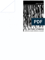 John v.murra. El Mundo Andino