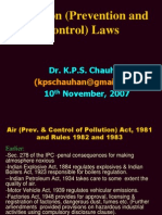 Pollution Laws