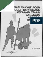 Apa Sebab Rakyat Aceh Sanggup Berperang Puluhan Tahun Melawan Agressi Belanda