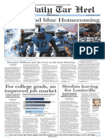 The Daily Tar Heel for Nov. 17, 2014
