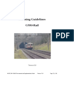 SBB Planning Guidelines GSM-R