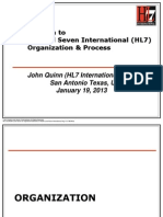 HL7 Org and Process Introduction