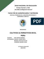 monografia de Cultivos Alternativos
