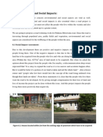 Environmental and Social Impacts Highway