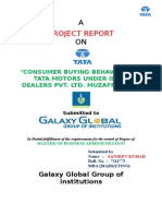CONSUMER BUYING BEHAVIOUR OF TATA MOTORS UNDER IDEAL DEALERS PVT. LTD.doc