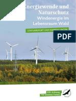 Energiewende und Naturschutz - Windenergie im Wald