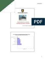 Sistema de Salud Chileno 2014 I Parte