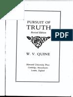 W.V.Quine - Pursuit of Truth.pdf
