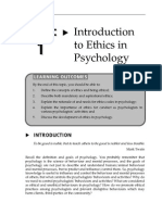 Topic 1 Introduction to Ethics in Psychology