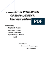 Project Interview