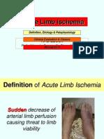 Acute Limb Ischemia Site