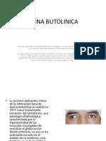 TOXINA BUTOLINICA