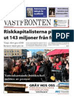 Västfronten 13 Mars 2014