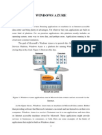 Technical Paper OF WINDOWS AZURE