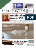 Västfronten 14 Mars 2014