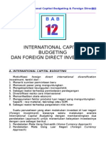 12 International Capital Budgeting Foreign Direct Investme Lain