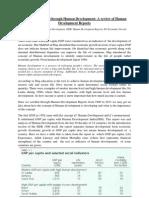 Human Development Report; A review