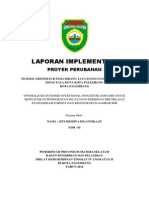Cover Laporan Implementasi