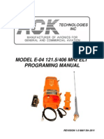 E-04 Programing Manual