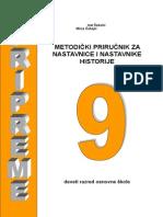HISTORIJA 9 (METODICKI PRIRUCNIK).doc