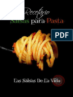 Recetario Salsas Para La Pasta