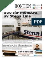 Västfronten 26 Sept 2014