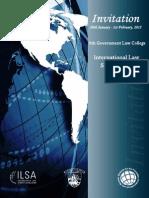 Invitation- 6th Govt. Law College International Law Summit
