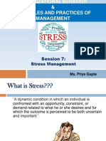 OB - Stress Management