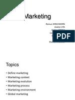 Marketing - Basics