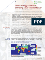 Concentrated Solar Brochure