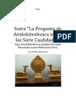 Sutra La Pregunta de Avalokiteshvara sobre las Siete Cualidades.docx