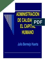 Calidad Del Capital Humano