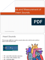 Heart Sounds and Measurement of Heart Sounds