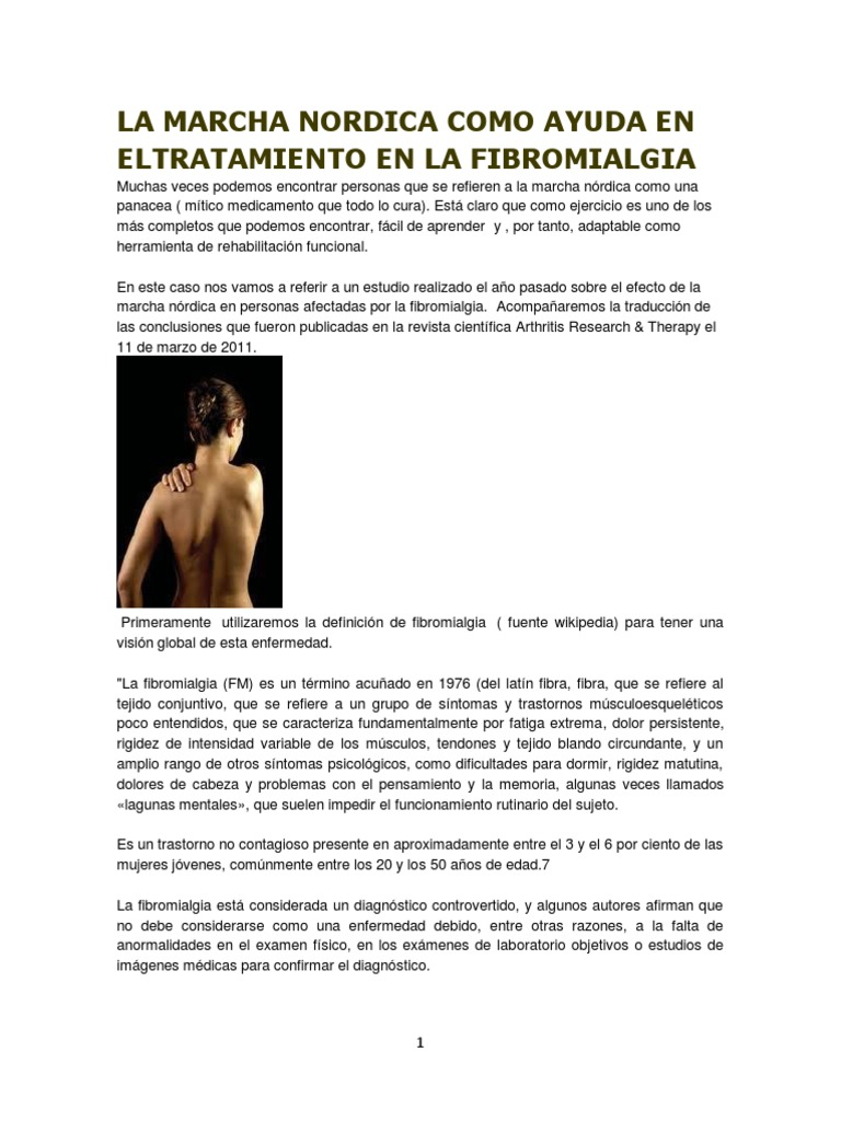 De fibromialgia físicos efectos la