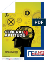 GATE General Aptitude Book