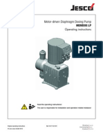 Acid Pump Motor-driven Diaphragm Dosing Pump Manual