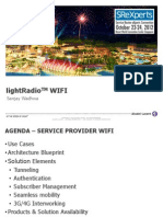 LightRadio Wifi