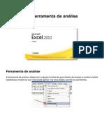 Excel 2010 Ferramenta de Analise