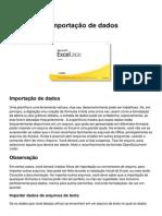Excel 2010 Importacao de Dados
