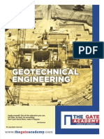 GATE Geotechnical Engineering Engineering