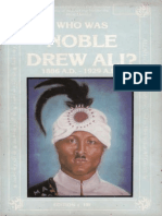 Who Was Noble Drew Ali