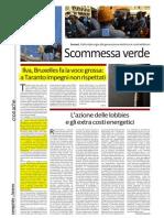 Ilva 2014 Europa Emissioni Salute Infrazioni a.i.a. Rassegna Stampa Impianti Termoelettrici