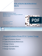 ASHRAE Seminar - Isolation Room HVAC Design
