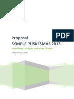 Cover Proposal Puskesmas Larangan