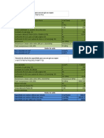 Cálculo de Seleção Da Área e Da Capacidade de Descarga Para Uso Em Gases e Vapor PSR Flowsafe Série 8000 (Lb Por h)