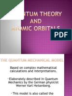 Quantum Theory and Atomic Orbitals