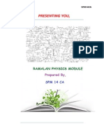 Physics Module by SPM14CA